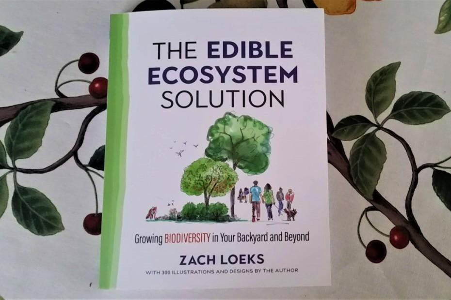 Book cover Zach Loeks Edible Ecosystem Solution
